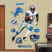 Fathead Detroit Lions Calvin Johnson Wall Decals