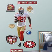 Fathead San Francisco 49ers Frank Gore Wall Decals