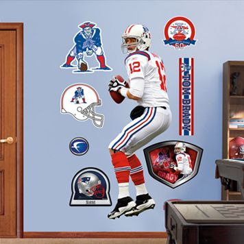 Fathead New England Patriots Tom Brady Wall Decals