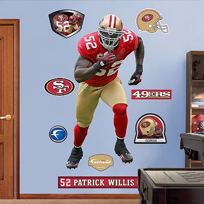 Fathead San Francisco 49ers Patrick Willis Wall Decals