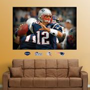 Fathead New England Patriots Tom Brady Mural Wall Decals