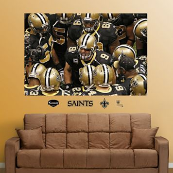 Fathead New Orleans Saints Mural Wall Decals