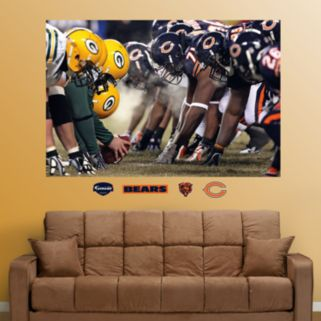 Fathead Chicago Bears Mural Wall Decals