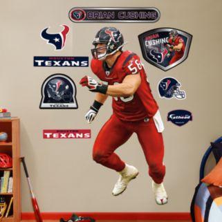 Fathead Houston Texans Brian Cushing Wall Decals