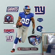 Fathead New York Giants Hakeem Nicks Wall Decals