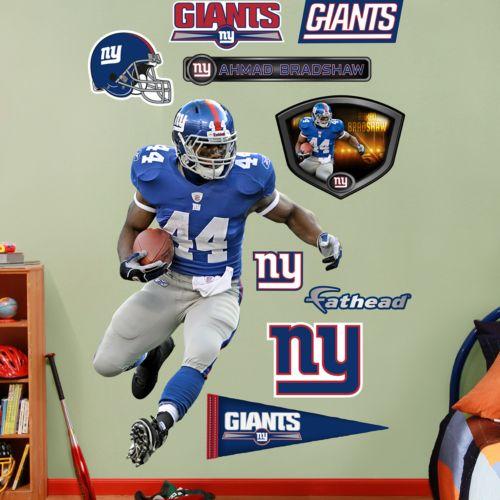 Fathead New York Giants Ahmad Bradshaw Wall Decals