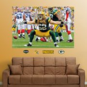 Fathead Green Bay Packers Clay Matthews Mural Wall Decals