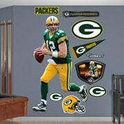 Fathead Green Bay Packers Aaron Rodgers Wall Decals