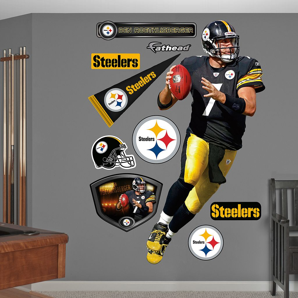 Fathead Pittsburgh Steelers Ben Roethlisberger Wall Decals