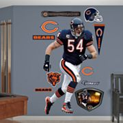 Fathead Chicago Bears Brian Urlacher Wall Decals