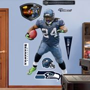 Fathead Seattle Seahawks Marshawn Lynch Wall Decals
