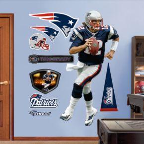 Fathead New England Patriots Tom Brady 9-Piece Wall Decals