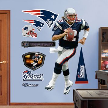Fathead New England Patriots Tom Brady 9-Piece Wall Decals