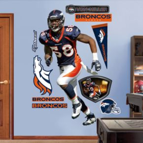 Fathead Denver Broncos Von Miller 10-Piece Wall Decals