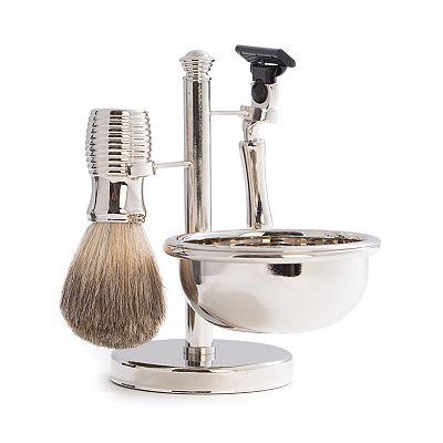 4 pc mach3 shaving kit. Black Bedroom Furniture Sets. Home Design Ideas