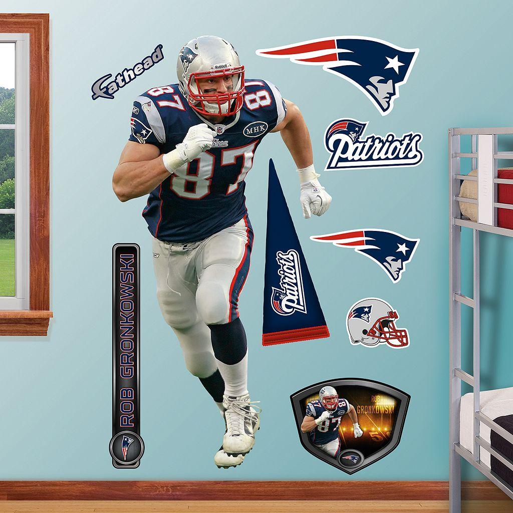 Fathead New England Patriots Rob Gronkowski Wall Decals