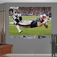 Fathead New England Patriots Rob Gronkowski Mural Wall Decals