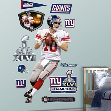 Fathead New York Giants Eli Manning Super Bowl MVP Wall Decals