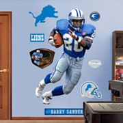 Fathead Detroit Lions Barry Sanders Wall Decals