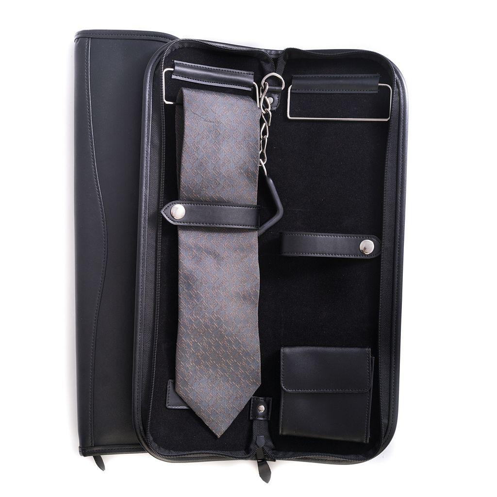 Leather Travel Tie Case