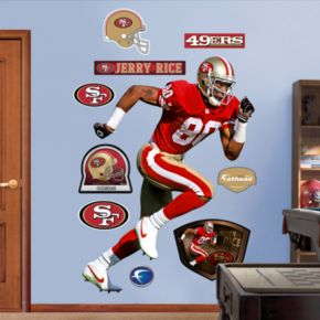 Fathead San Francisco 49ers Jerry Rice Wall Decals