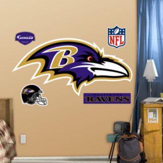 Fathead Baltimore Ravens Logo Wall Decals