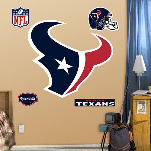 Fathead Houston Texans Logo Wall Decals