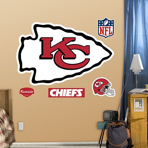 Fathead Kansas City Chiefs Logo Wall Decals