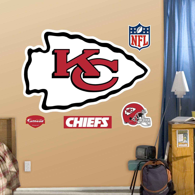Fathead Kansas City Chiefs Logo Wall Decals Part 80