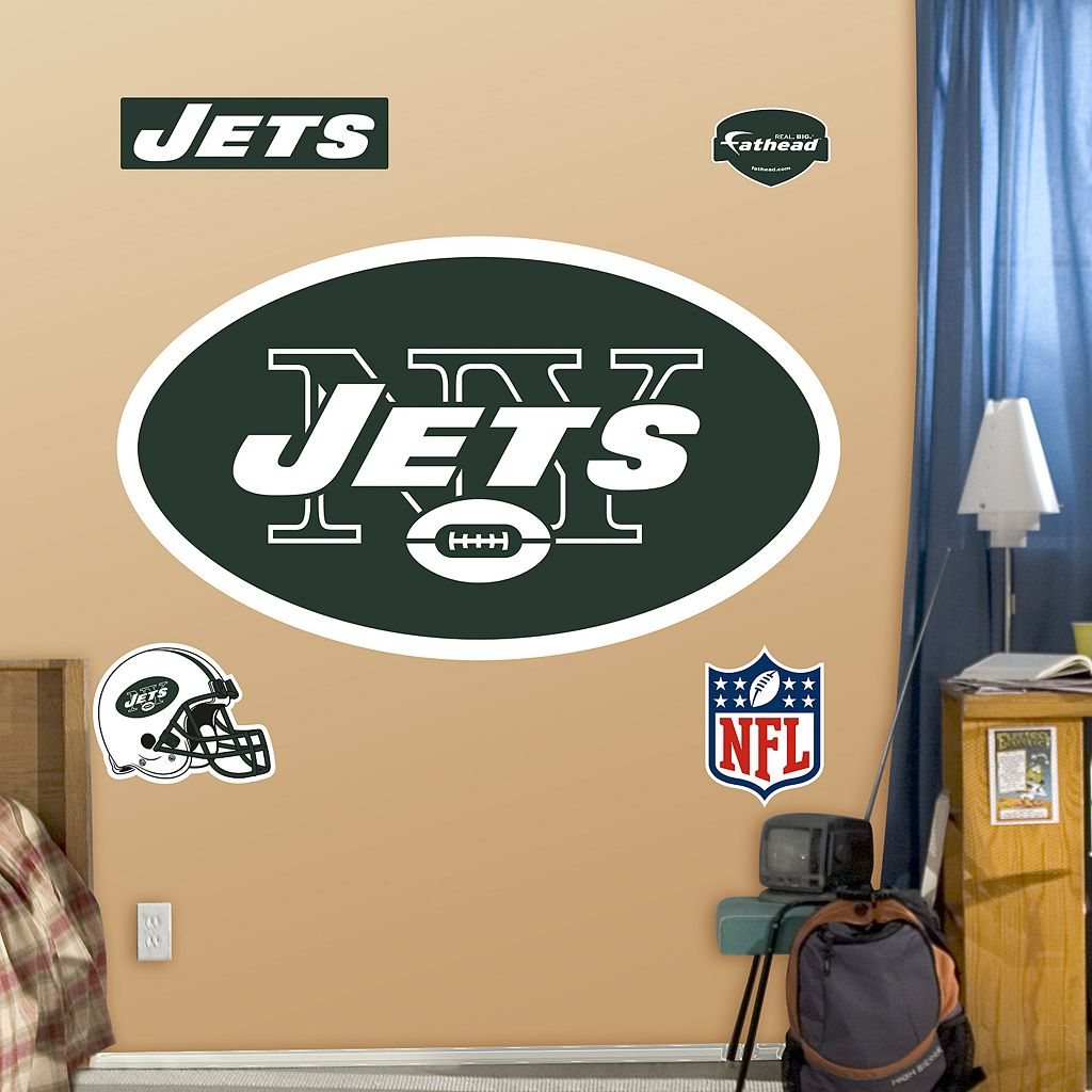 Fathead New York Jets Logo Wall Decals