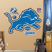 Fathead Detroit Lions Logo Wall Decals