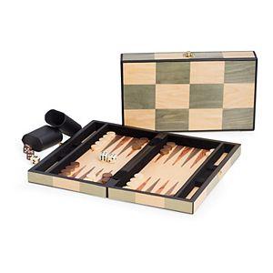 12-in. Wooden Backgammon Set