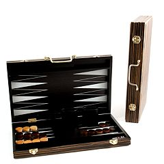 15 in Wooden Backgammon Set