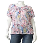 Cathy Daniels Paris Embellished Top - Women's Plus