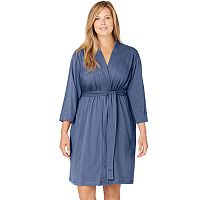 Plus Size Jockey Wrap Robe