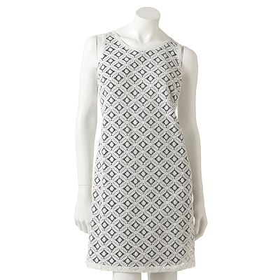 Apt. 9 Lace Shift Dress