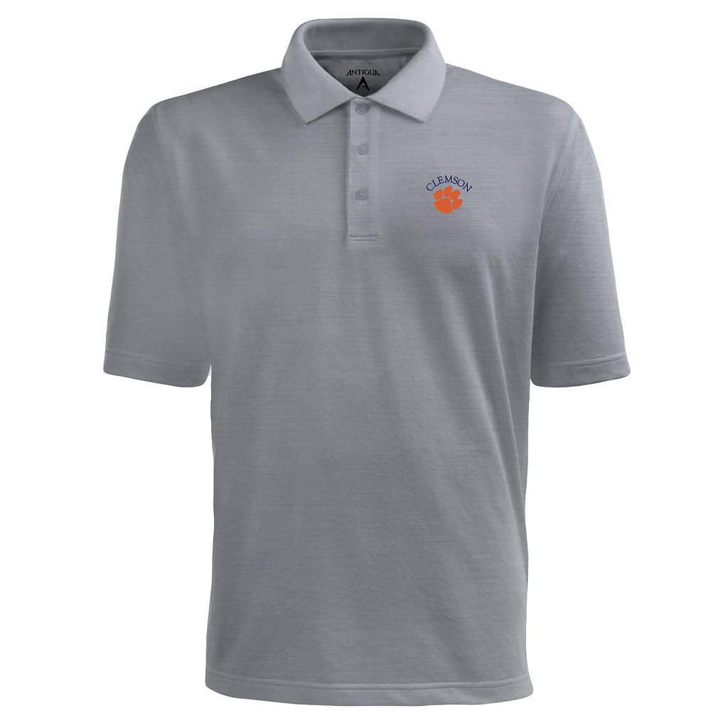 Men's Clemson Tigers Pique Xtra Lite Polo