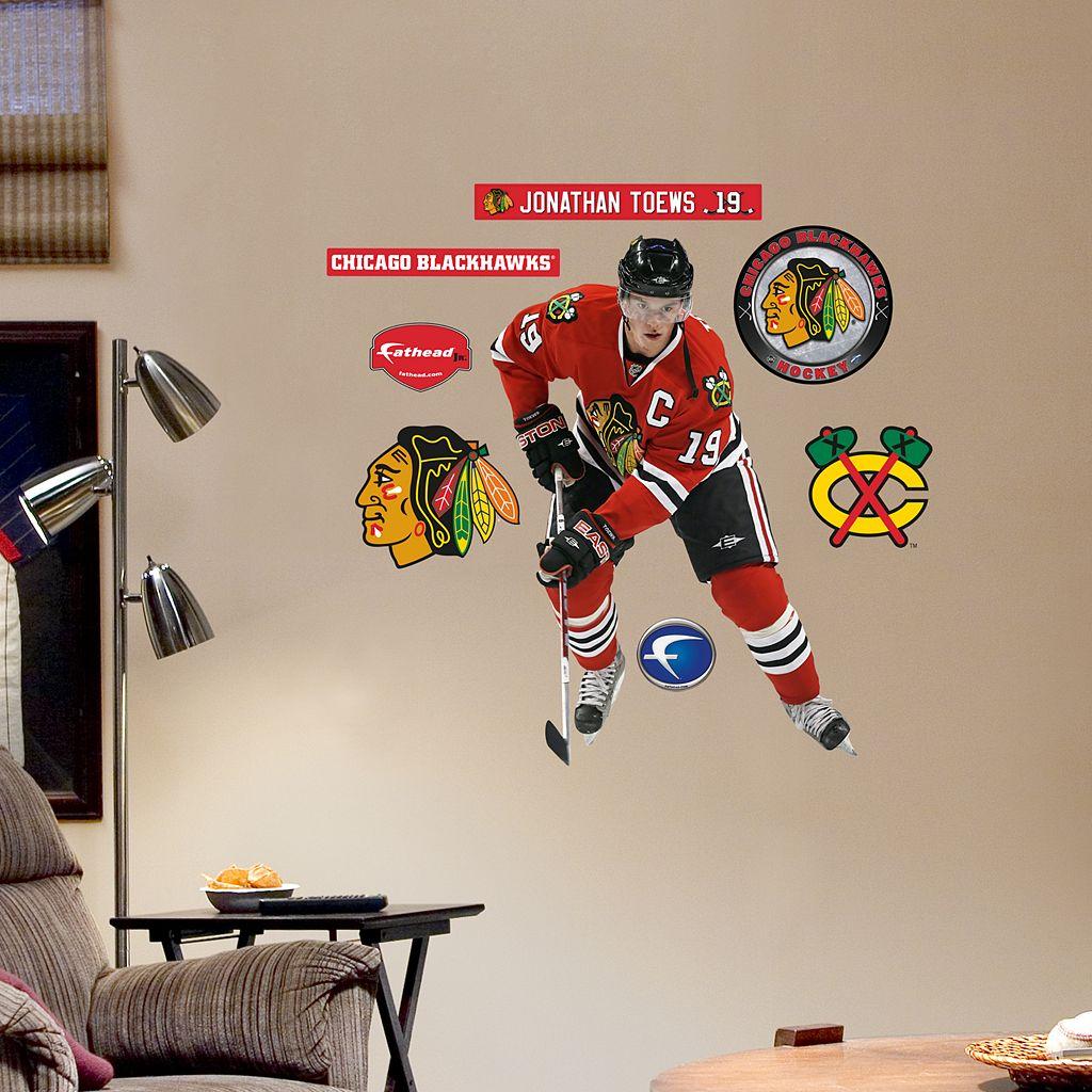 Fathead Chicago Blackhawks Jonathan Toews 8-Piece Wall Decals