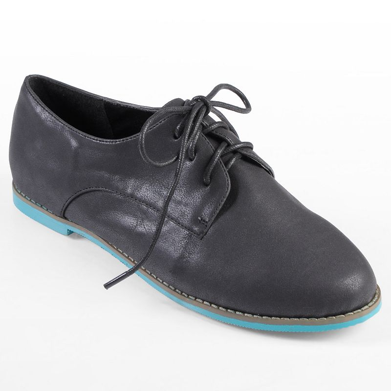 Journee Collection Riverside Oxford Shoes - Women