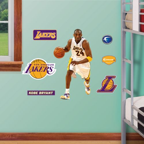 Fathead Los Angeles Lakers Kobe Bryant Wall Decals