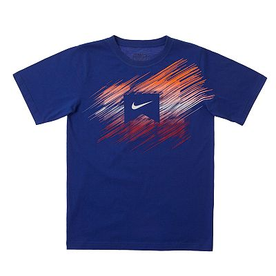 Nike Action Logo Tee - Boys 8-20