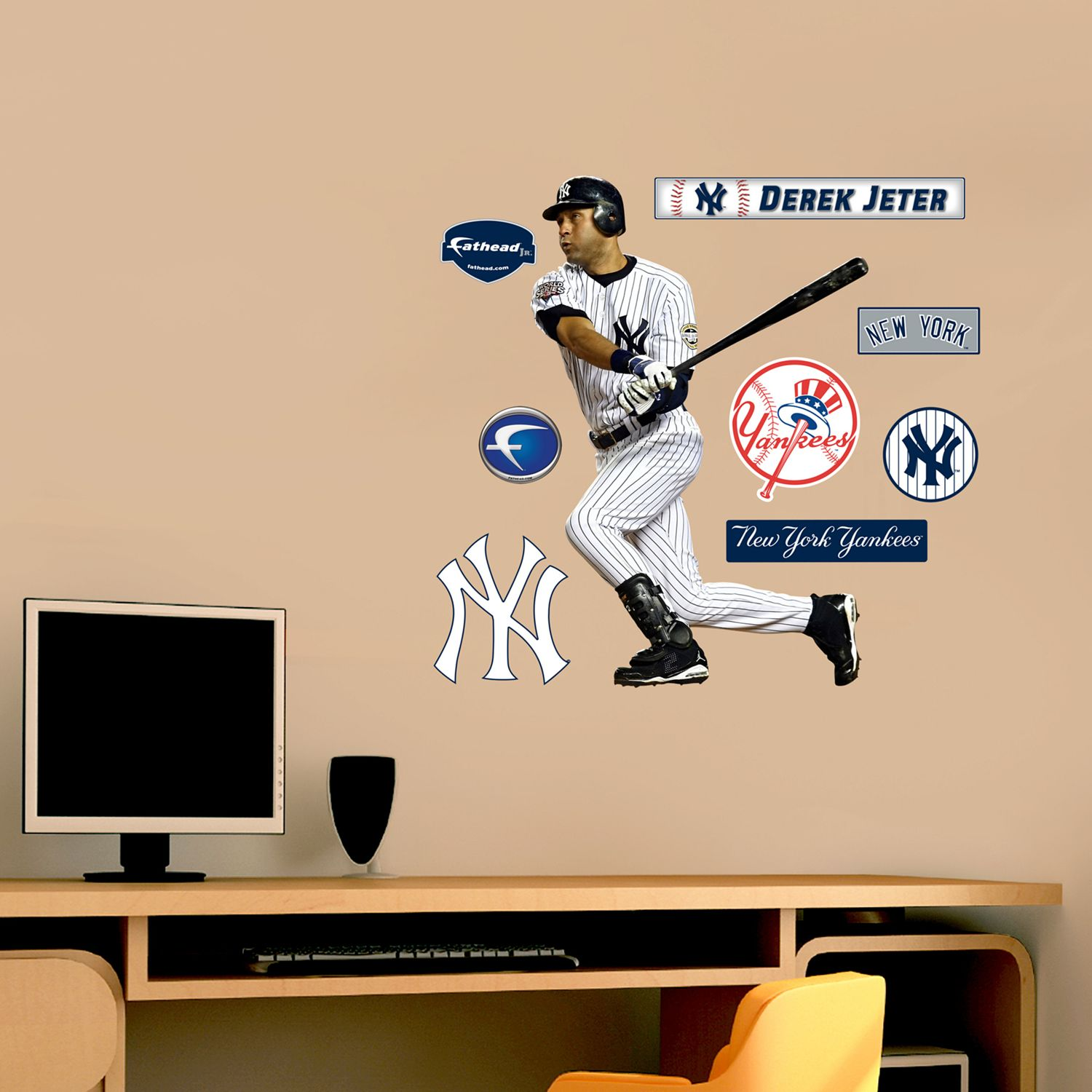 Fathead New York Yankees Derek Jeter Wall Decals Part 81