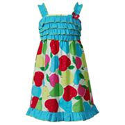 Youngland Pear Ruffle Sundress - Girls 4-6x