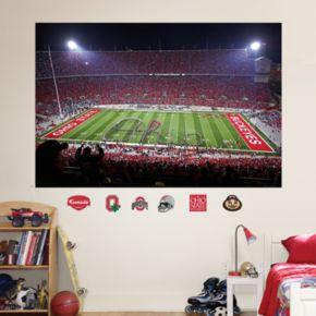 Fathead Ohio State Buckeyes Night Stadium Mural Wall Decals