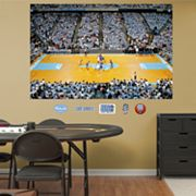 Fathead North Carolina Tar Heels Basketball Arena Mural Wall Decals