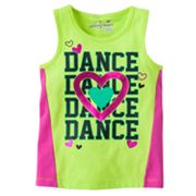 Jumping Beans Dance Colorblock Tank - Toddler