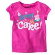 Jumping Beans Bring on the Cake Birthday Tee - Toddler