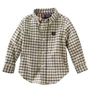 Chaps Tattersall-Plaid Shirt - Baby