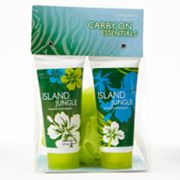 Scentsations Island Jungle Coconut Pineapple Shower Gel and Body Lotion Gift Set