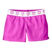Jumping Beans Solid Mesh Shorts - Toddler